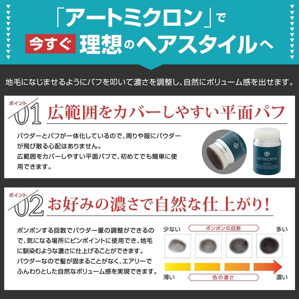 アートミクロン パウダー(20g) 【2本まとめ買い】