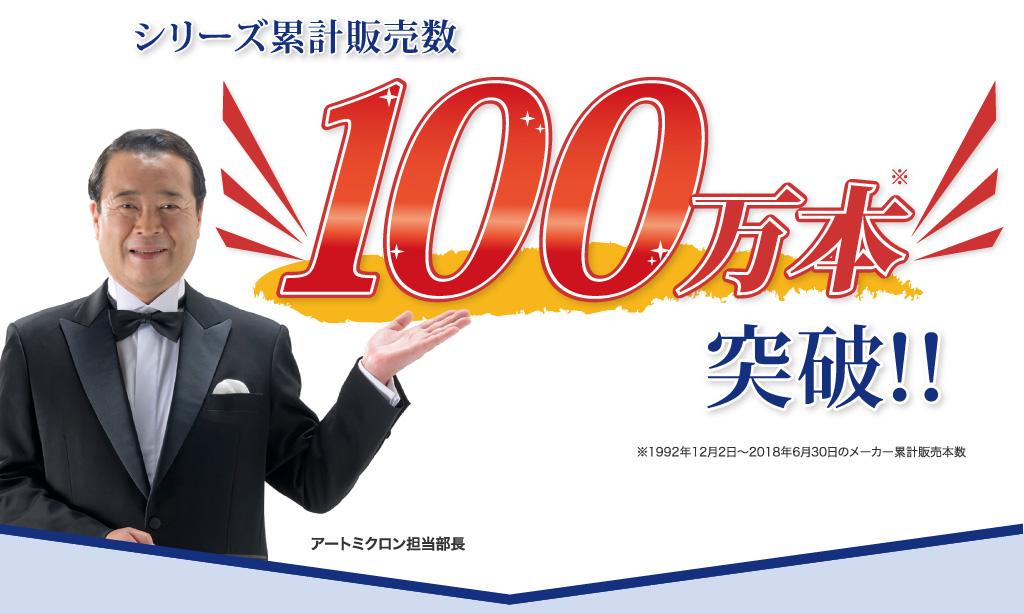 シリーズ累計販売数60万本突破!