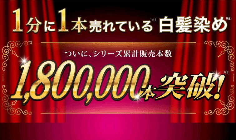 ついにシリーズ累計180万本突破